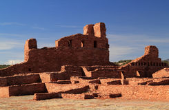 Abo Ruins. At Salinas National Monument in the State of New Mexico Stock Photo