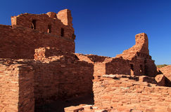 Abo Ruins. At Salinas National Monument in the State of New Mexico Stock Photography
