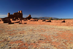 Abo Ruins. At Salinas National Monument in the State of New Mexico Royalty Free Stock Photos