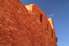 Abo Ruins. At Salinas National Monument in the State of New Mexico Stock Images
