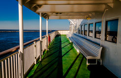 Aboard the Cape May -Lewes Ferry, in the Delaware Bay between Ne Stock Photography