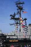 Aboard USS Midway Museum in San Diego Stock Photo