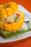 Abobora in the Plate 3. Delicioso prato de abobora em restaurante Stock Photography