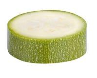 Abobrinha da polpa de abóbora vegetal isolado no fundo branco Imagens de Stock Royalty Free