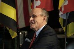 Abogado anterior Rudy Giuliani del gobernador y de presidente Trump's de Nueva York fotografía de archivo libre de regalías