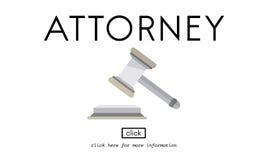 Abogado Concept del juez de Balance Court Document del abogado Fotografía de archivo
