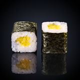 Abogado roru rolls with avocado Stock Images