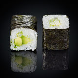 Abogado roru rolls with avocado Royalty Free Stock Photography