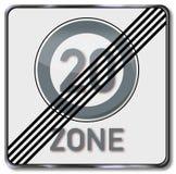 Abolición de la zona 20 Imágenes de archivo libres de regalías