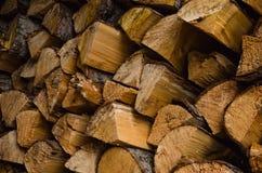 Abondance de bois de chauffage Photographie stock libre de droits