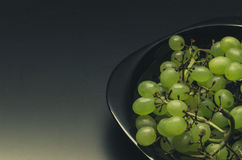 Abondance de raisins verts Photographie stock libre de droits