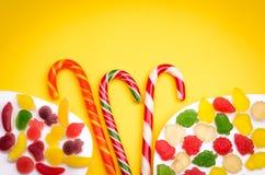 Abondance de sucreries Images libres de droits