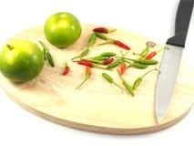 Abondance verte de nourriture de concept de citron photographie stock libre de droits