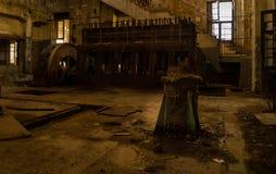 Abonded fabrik Arkivbilder