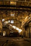 Abonded fabrik Royaltyfri Bild