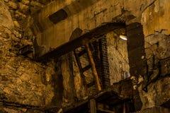 Abonded fabrik Arkivfoton