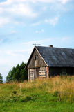 Abondoned rural house royalty free stock images