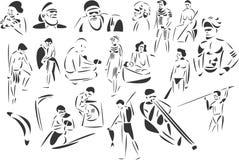 Aborígenes Fotografía de archivo