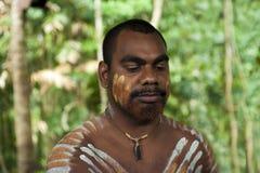 Aborigen australiano Imagen de archivo libre de regalías