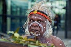 Aborigeno australiano Immagini Stock Libere da Diritti