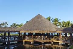 Aboriginal Style Architecture of Tropics Royalty Free Stock Photo