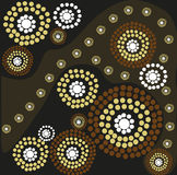 Aboriginal art Royalty Free Stock Photos