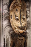 Aboriginal art display at Museum of Anthropology Royalty Free Stock Image