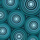 Aboriginal art seamless background. Aboriginal art vector seamless background royalty free illustration