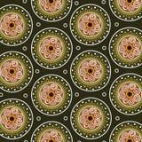 Aboriginal art vector seamless background. Aboriginal art seamless background - vector illustration vector illustration