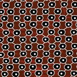 Aboriginal art vector background, Connection concept Stock Illustration