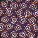 Aboriginal art vector background. Connection concept vector illustration
