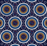 Aboriginal art vector background stock photography