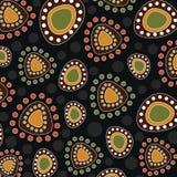 Aboriginal art vector dot background. Art. Aboriginal art vector dot background royalty free illustration
