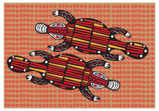 Aboriginal arts. Stock Images