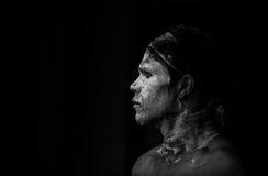 Aboriginal Australian man Royalty Free Stock Photos