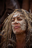 Aboriginal Australian woman Stock Photography