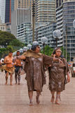 Aboriginal Australian women Stock Photography