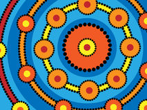 aboriginal cirklar Royaltyfria Foton