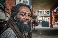 An aboriginal creole man with a beard Stock Photography