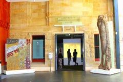 Aboriginal cultures gallery in South Australian Museum, Adelaide Stock Photos