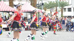 Aboriginal dance performances in Hualien Culture Park, Hualien, Stock Image