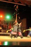 Aboriginal dance sarawak. Aboriginal dance performed at cultural village sarawak Royalty Free Stock Photography