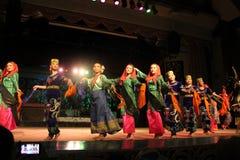 Aboriginal dance sarawak. Aboriginal dance performed at cultural village sarawak Stock Photography