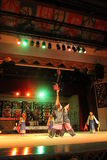Aboriginal dance sarawak. Aboriginal dance performed at cultural village sarawak Royalty Free Stock Image