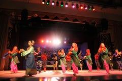 Aboriginal dance sarawak. Aboriginal dance performed at cultural village sarawak Stock Photo