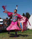 Aboriginal Dancer At Edmonton's Heritage Days 2013 Royalty Free Stock Photography