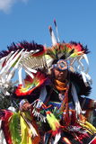 Aboriginal Dancer At Edmonton's Heritage Days 2013 Royalty Free Stock Photos