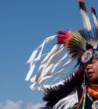 Aboriginal Dancer At Edmonton's Heritage Days 2013 Royalty Free Stock Photo