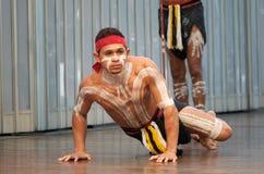 aboriginal dansare Arkivbilder