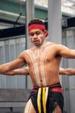 aboriginal danskapacitet Arkivbild